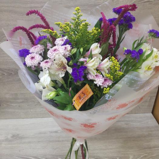 Снежка: букеты цветов на заказ Flowwow