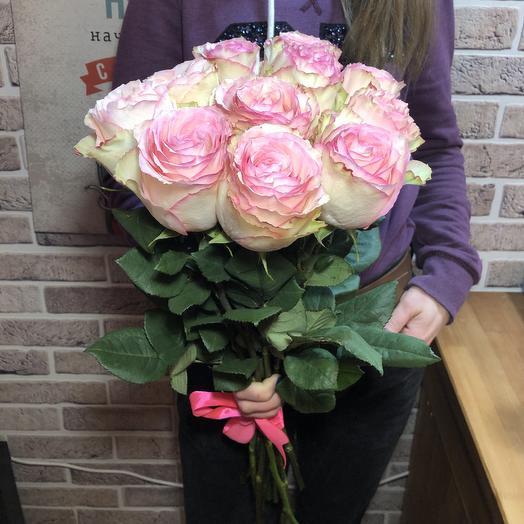 Букет Эквадорские розы 60см: букеты цветов на заказ Flowwow