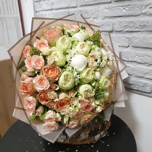 Манящий букет: букеты цветов на заказ Flowwow