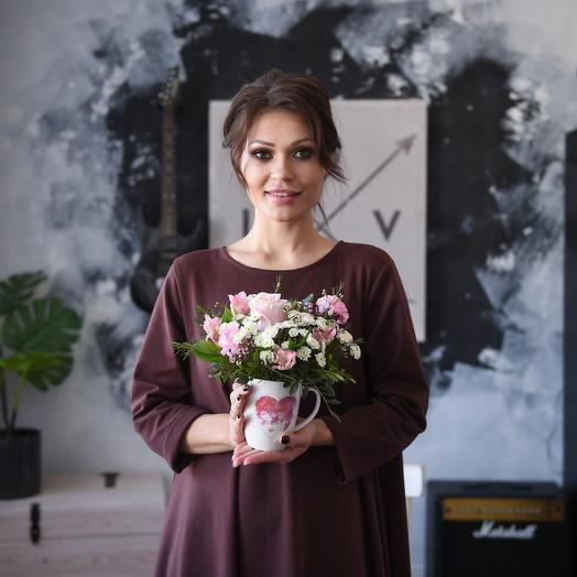 Комплимент валентинка2: букеты цветов на заказ Flowwow