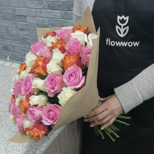 35 весеннего микса: букеты цветов на заказ Flowwow