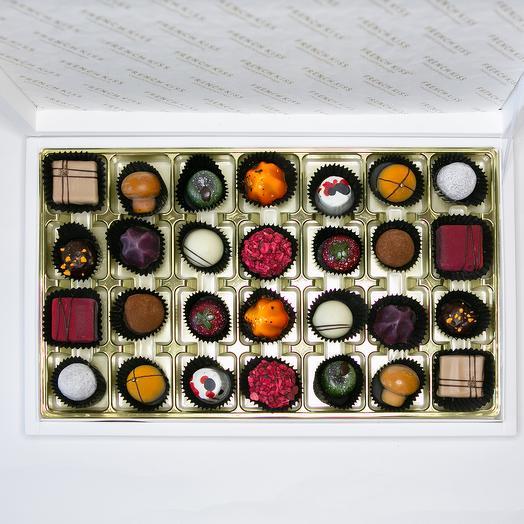 Набор 8 из конфет FRENCH KISS: букеты цветов на заказ Flowwow