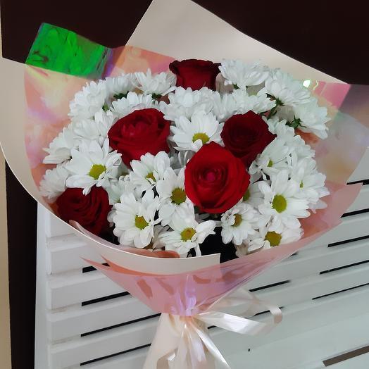 Ромашки розы