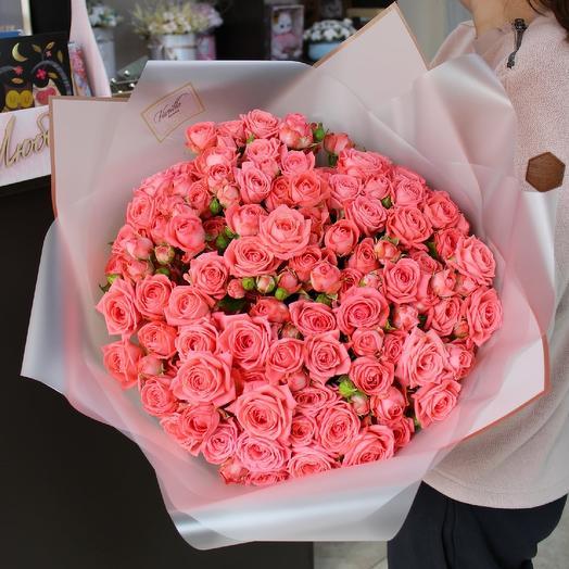 Нереальная кустовая роза барбадос