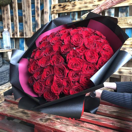 Роза 51 шт