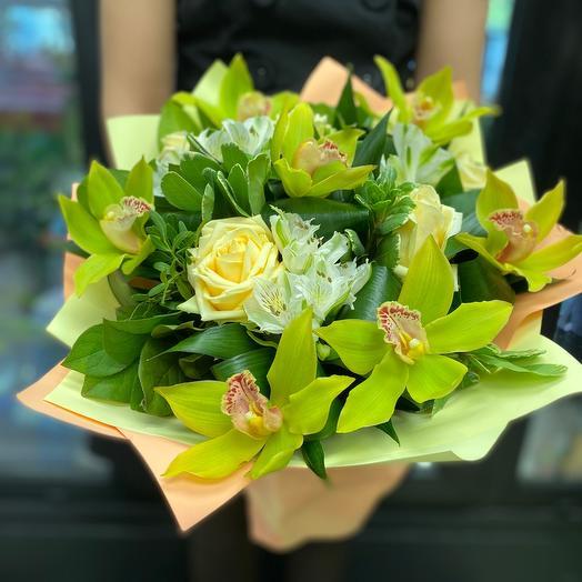 Ангельский полёт: букеты цветов на заказ Flowwow