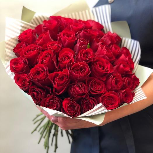 45 roses 45 cm Premium