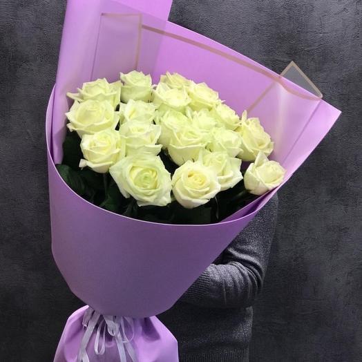 19 роз в фоамиране