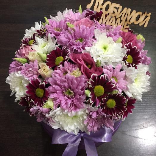 Цветы в коробке 00760