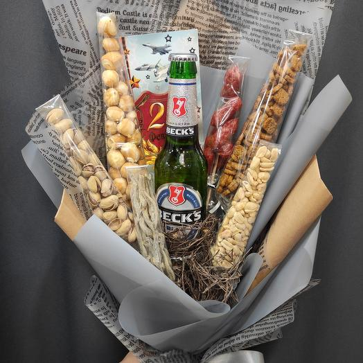 Bouquet of delicious treats