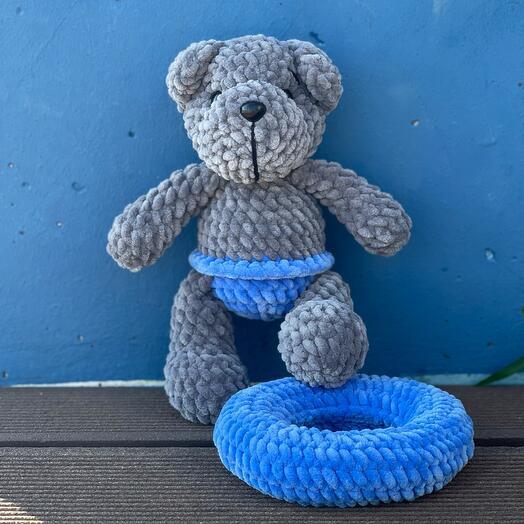 Мягкая игрушка плюшевый мишка