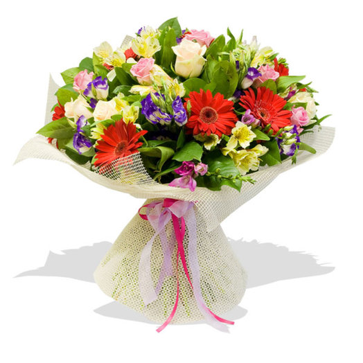 Букет цветов Дорога в облака: букеты цветов на заказ Flowwow