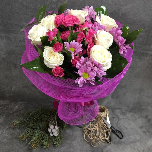 "Bouquet ""Marmalade"""
