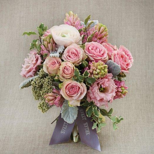 Компактный букет Афродита: букеты цветов на заказ Flowwow