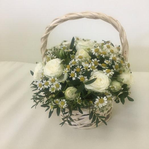 Корзинка «Лето»: букеты цветов на заказ Flowwow
