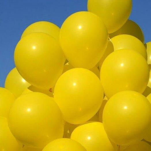 """Воздушные шары 30 штук """"Солнечный зайчик"""": букеты цветов на заказ Flowwow"""