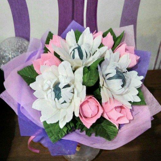 Сладкий букет из конфет : букеты цветов на заказ Flowwow
