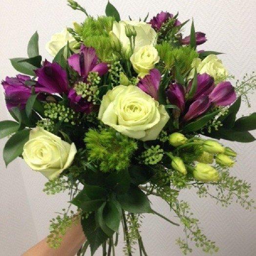 Мохнатый букет: букеты цветов на заказ Flowwow