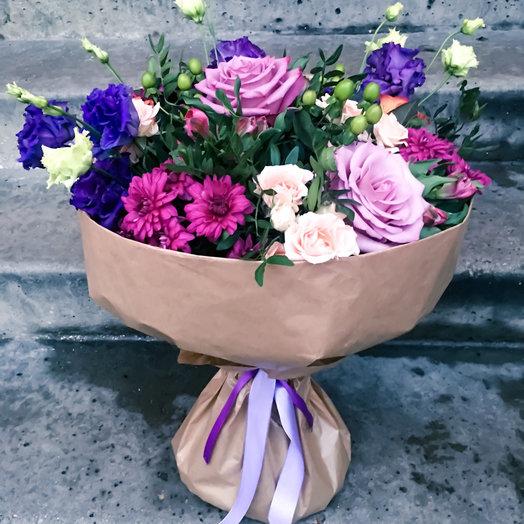 Букет Фантазия: букеты цветов на заказ Flowwow