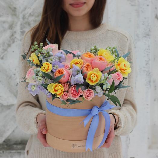 Бокс 10: букеты цветов на заказ Flowwow