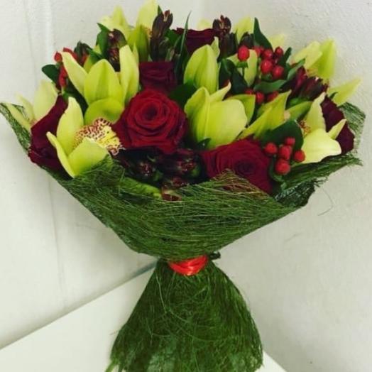 """""""Желанная """": букеты цветов на заказ Flowwow"""