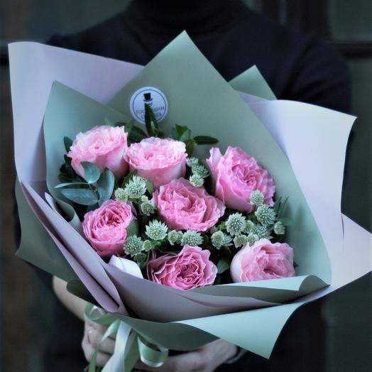 Таинственная Мари: букеты цветов на заказ Flowwow