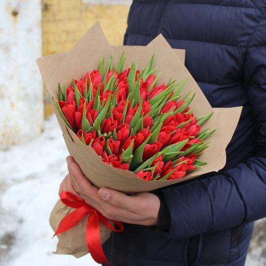 Цвет страсти: букеты цветов на заказ Flowwow