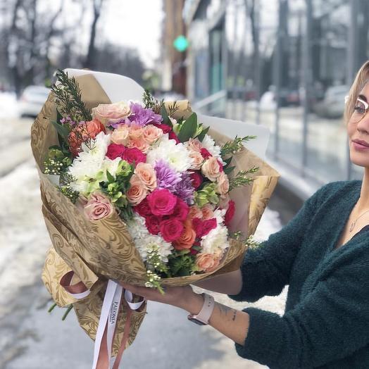 Букет 22: букеты цветов на заказ Flowwow