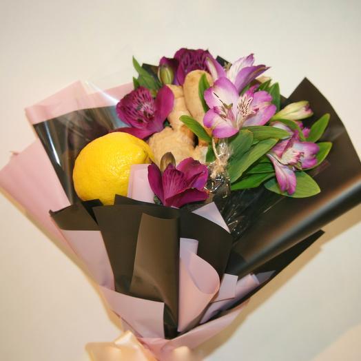 """Букет """"Чайный"""" (мини): букеты цветов на заказ Flowwow"""
