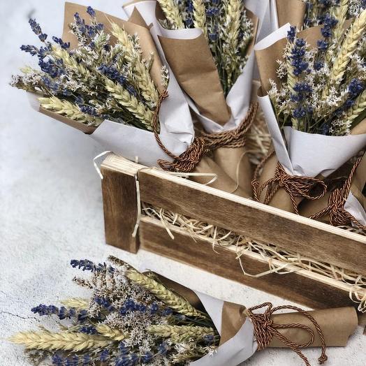 """Прованс"" мини-букетик: букеты цветов на заказ Flowwow"