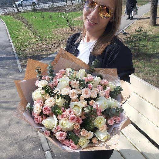 Нежность Z23: букеты цветов на заказ Flowwow