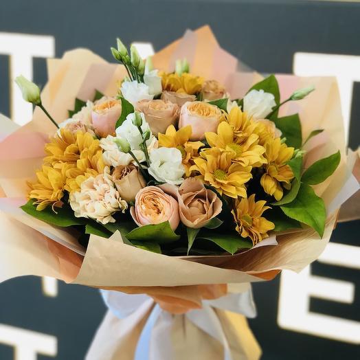 Топлёное молоко: букеты цветов на заказ Flowwow