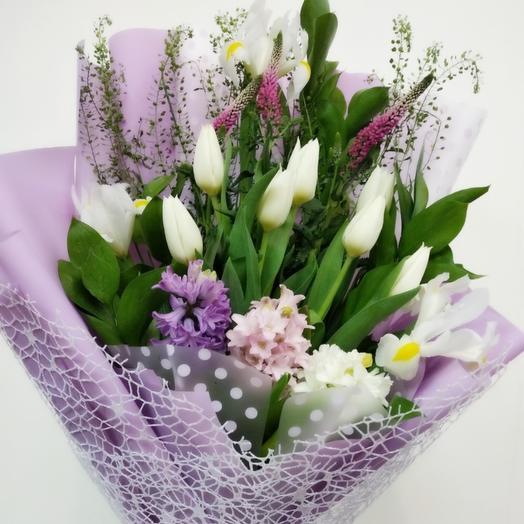 Аромат первоцветов: букеты цветов на заказ Flowwow