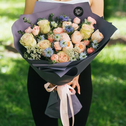 Загадка любви: букеты цветов на заказ Flowwow