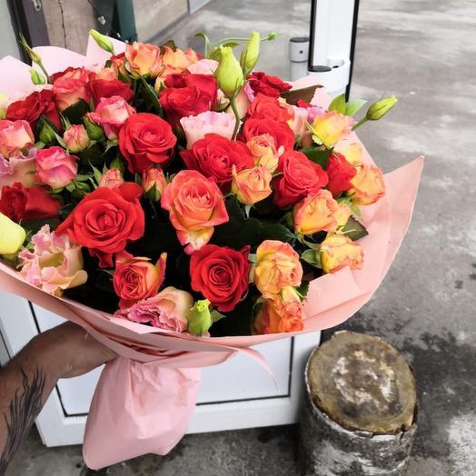 Страстный крастный: букеты цветов на заказ Flowwow