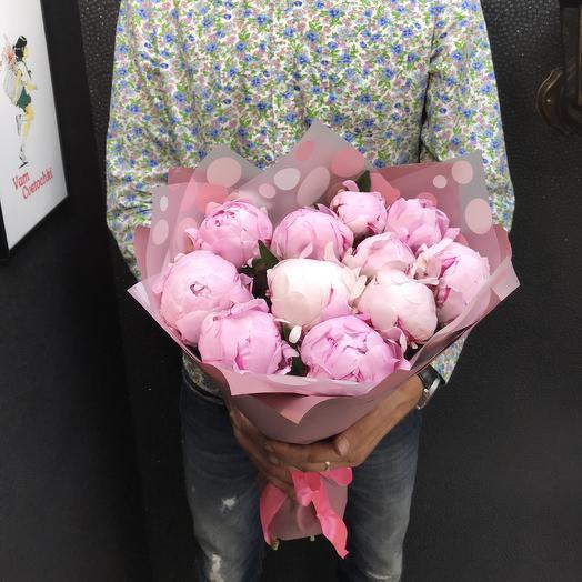 Пионы S: букеты цветов на заказ Flowwow