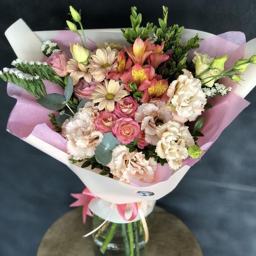 Персик: букеты цветов на заказ Flowwow