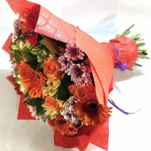 Вдохновлённый солнцем: букеты цветов на заказ Flowwow
