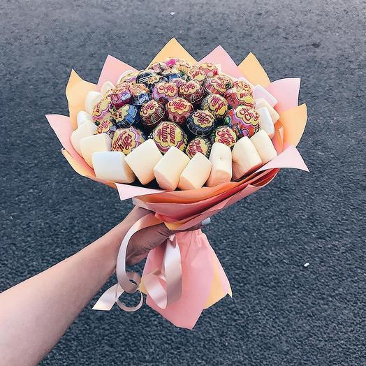 Карамельный дуэт: букеты цветов на заказ Flowwow
