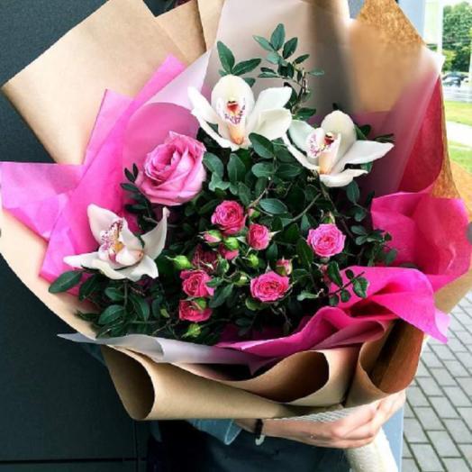"""Букет """"Розовая мечта"""": букеты цветов на заказ Flowwow"""