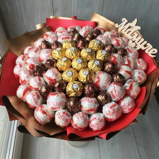 Шоколадный микс 1: букеты цветов на заказ Flowwow