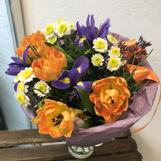 Мамина улыбка)): букеты цветов на заказ Flowwow