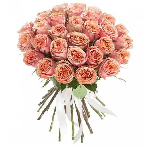 Пионовидные розы 29 шт: букеты цветов на заказ Flowwow