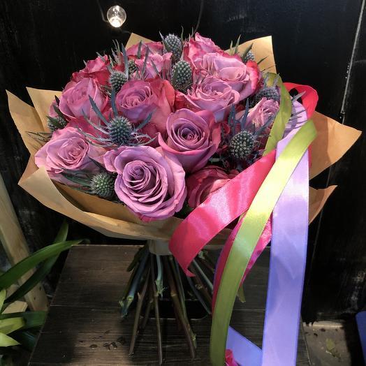 Шипы и розы: букеты цветов на заказ Flowwow