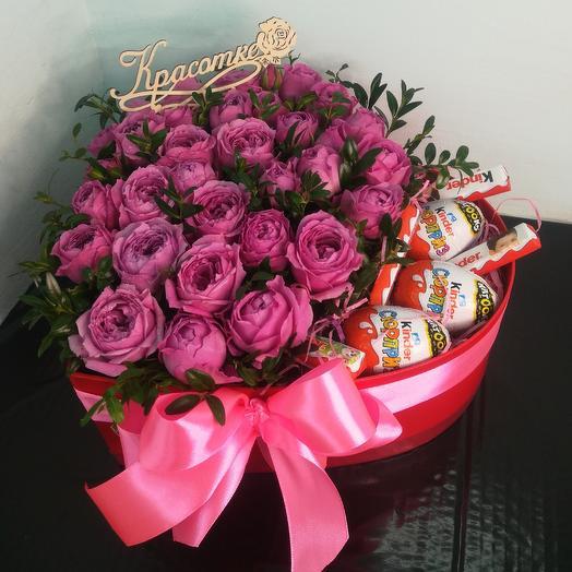 Бомбастик со сладостями: букеты цветов на заказ Flowwow