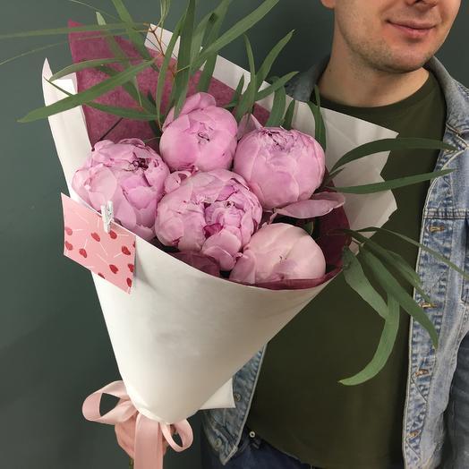 Пионы-шпионы: букеты цветов на заказ Flowwow