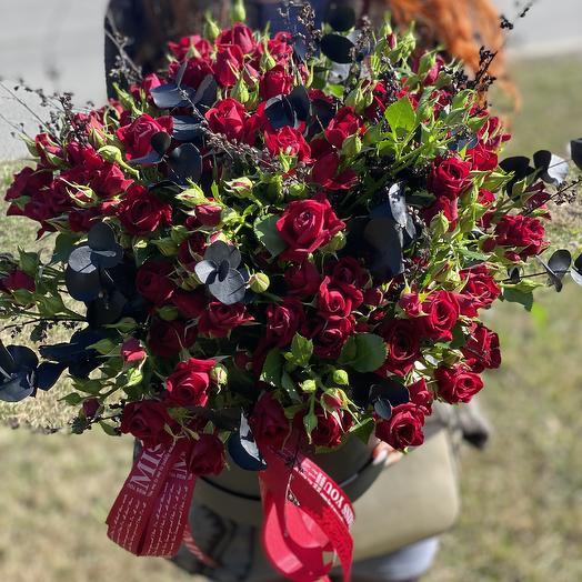 Black Prince: букеты цветов на заказ Flowwow