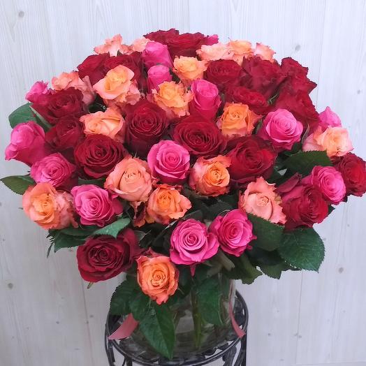 Весеннее чувство (51 роза)