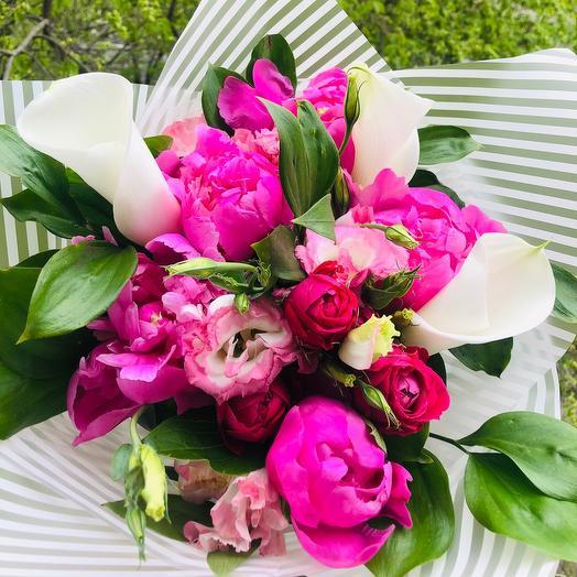 Евро букет: букеты цветов на заказ Flowwow