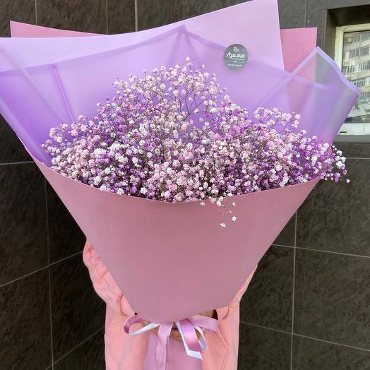 Розовое облако💕: букеты цветов на заказ Flowwow